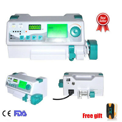 For Human and Veterinay Injection Syringe Pump HD LCD Display &kinds language CE