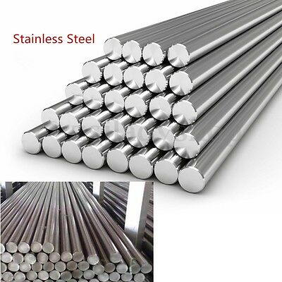 Stainless Steel 303 201 Round Solid Metal Bar Rod Dia 3-14mm Length 125mm-500mm#