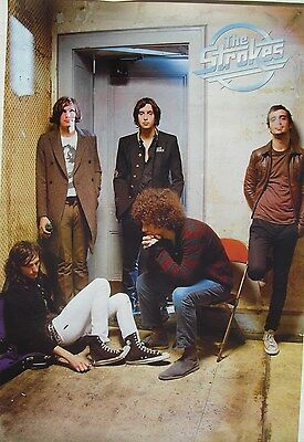 "THE STROKES ""GROUP BY DOORWAY"" POSTER FROM ASIA - Garage Rock/Post-Punk Revival"