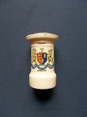 Chester Coat Of Arms British Manufacture Crested Ware Pillar Box Postbox