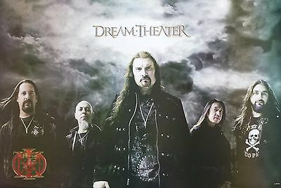 "DREAM THEATER ""GROUP STANDING BY STORM CLOUDS"" ASIAN POSTER - Progressive Music"