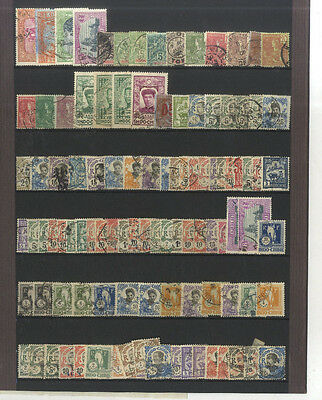 Lot 109 Timbres Anciens Indochine Asie Asia