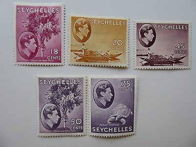 Seychelles GVIth m/mint selection