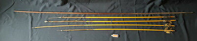 Nice Old 1 Bow And 4 Arrows Authentic Amazon Rain Forrest Indians / Brazil
