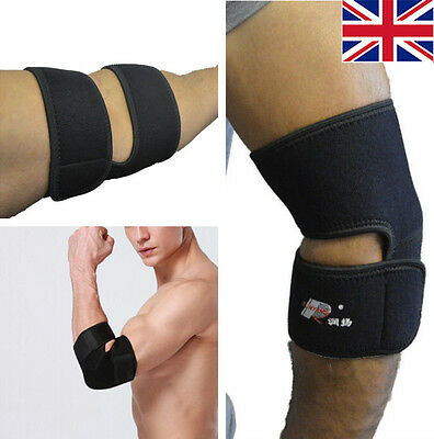 Body Elbow Support Neoprene Adjustable Arthritis Strap Brace Gym Sport Protect