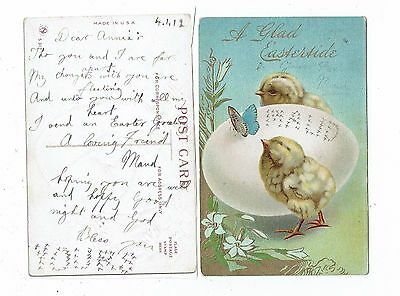 Post Cards Greetings A Glad Eastertide