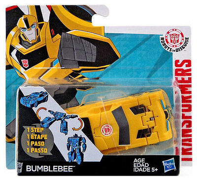 Hasbro Transformers Robots In Disguise One-Step Changers Figure Bumblebee W1