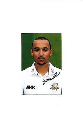Surrey Ccc - George Wilson   (Hand Signed)