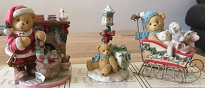 cherished teddies Christmas Collection