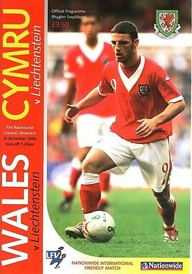 WALES v Liechtenstein (Friendly International) 2006