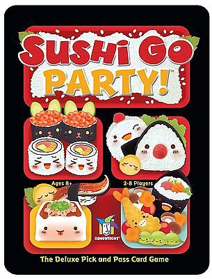 Gamewright Sushi Go! Party - The Deluxe Pick and Pass Card Game
