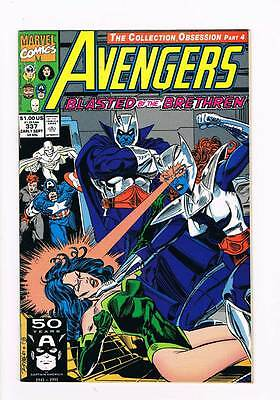 Avengers # 337 Mud and Glory ! grade 8.5 scarce book !!