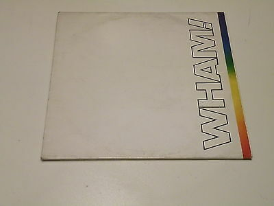 Wham! - The Final - 2 Lp 1986 Epic Records W/insert - Ois - George Michael -