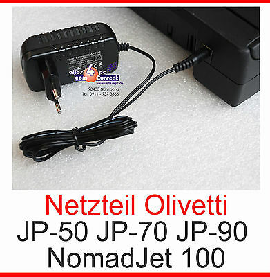 Netzteil Power Supply Adaptor F. Printer Drucker Olivetti Jp-90 Nomadjet 100 Neu