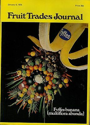 1978 6 JAN 54314 Fruit Trades Journal Magazine  JAFFA BACK IN LIVERPOOL