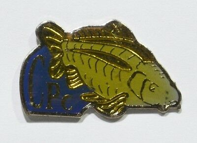 Pins Poisson Carpe Brochet ? Cpc Bleu