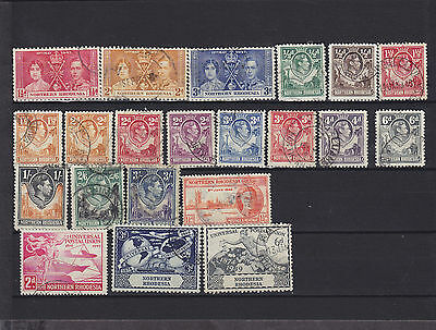 Northern Rhodesia KGVI Used Collection