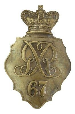 Victorian The 67Th South Hampshire Regiment Waterloo Shako