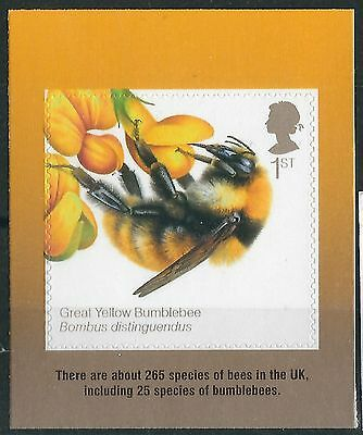 p334) Great Britain. 2015. MNH. SG 3743 From Honey Bees Booklet