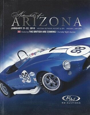 RM magazine-OLD CARS-Automobiles of Arizona-January 21, 2010-350 plus pages