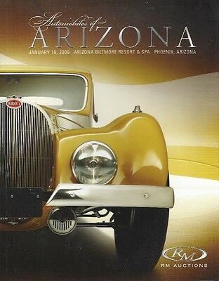 RM magazine-OLD CARS-Automobiles of Arizona-January 16, 2009-328 plus pages