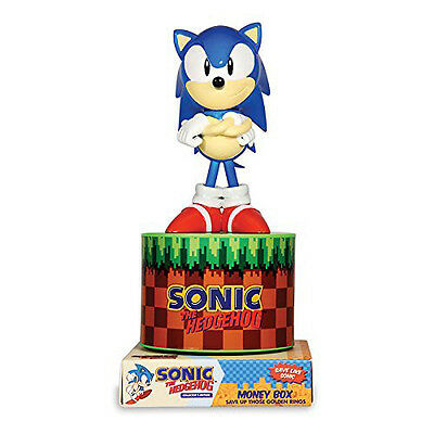 """Sonic the Hedgehog 8"""" Figure Coin Bank [Paladone]"""