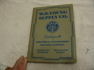 W.B. Young Waterworks and well  supply catalog 1937