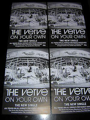 4 Small Original Verve Promotional Posters - On Your Own