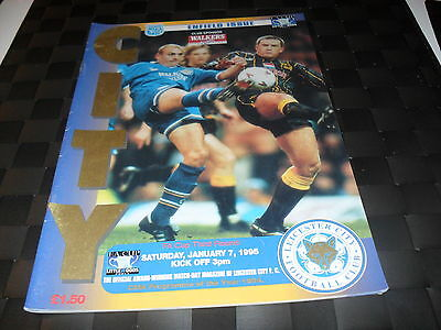 Leicester City v Enfield 7th January 1995 FA Cup