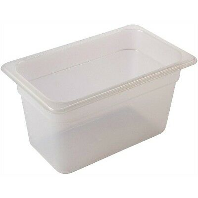10 x Polycarbonate Gastronorm Containers 1/3 100mm deep - PP13-100 NO Lids