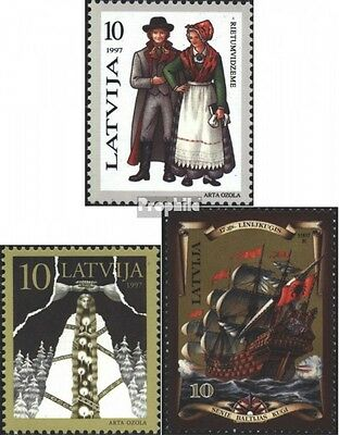 Latvia 450,451,454 (complete issue) unmounted mint / never hinged 1997 special s