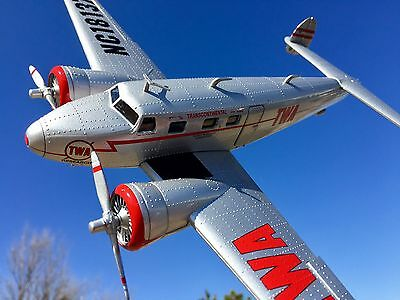 NEW Wings of Texaco #24 1937 Lockheed Electra Jr. TWA Special Edition Bank