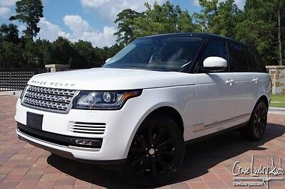 2015 Land Rover Range Rover  Range Rover HSE Supercharged loaded leather Crave Luxury Auto 281-651-2101