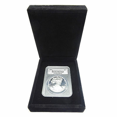 Fantasy Coin 2009 Silver American Eagle Proof Overstrike Thin DC Daniel Carr