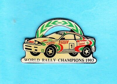 Emaillierter TOYOTA 1 RALLY - Pin  Race  Variante 3