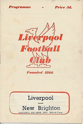 RUGBY UNION: Liverpool v New Brighton (18.05) 1953