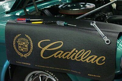Cadillac Classic Logo Black Non Slip Tool Grip Fender Cover Officially Licensed