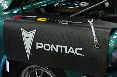 Pontiac Logo Black Non Slip Tool Grip Fender Cover Officially Licensed