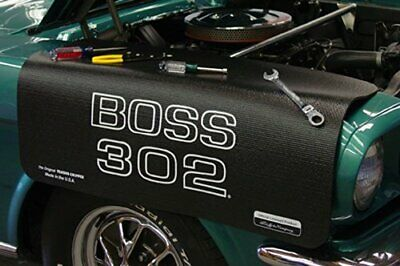 Ford Mustang Boss 302 Black Non Slip Tool Grip Fender Cover Officially Licensed