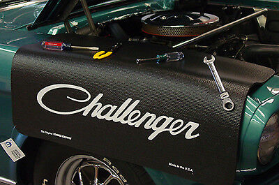 Dodge Challenger Black Non Slip Tool Grip Fender Cover Officially Licensed
