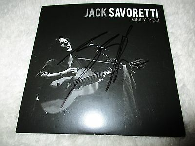 SIGNED Jack Savoretti - Only You Promo CD Single