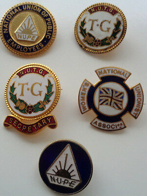 Collection Union & Other Enamel Lapel Badge