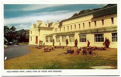 Vintage Postcard . Hollywood Home . Largs . Scotland . P/u1967