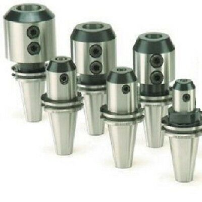 6 Techniks CAT40 CT40 End Mill Holders Set Standard AT3 Certified CNC