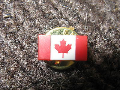 Canada Flag Lapel Pin Brand New For Waering On Shirt Or Jacket