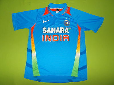 Shirt INDIA (XXL) (2XL) NIKE 2013 PERFECT !!! Jersey Cricket home