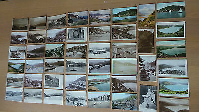barmouth postcards x 46 , from 1905 to 1940's rp's quinton etc
