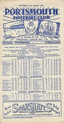 Portsmouth v Newcastle (FA Cup) 1951/2 - United Cup Winners!