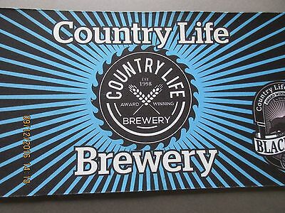 Country Life Brewery Bar Runner