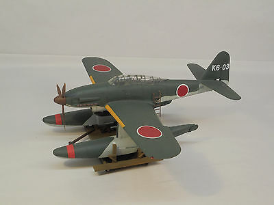 Aichi M6A1 Seiran, 1/48 scale, built & finished for display, airbrushed, fine.